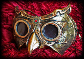 Steampunk Owl Goggles by Namingway