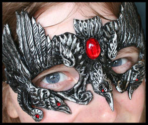 Crows of the Morrigan Mask by Namingway