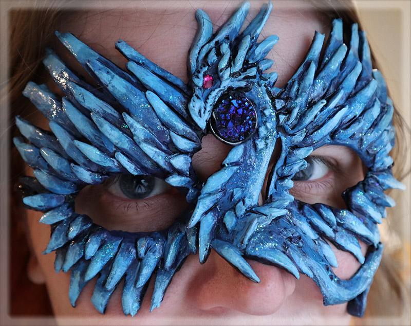 Ice Dragon Mask by Namingway