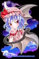 Remillia:::Scarlet Devil by MoonlightAlchemist
