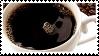 Black Coffee Stamp by Psorasis
