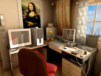 Mental Ray for Maya room1 by withego