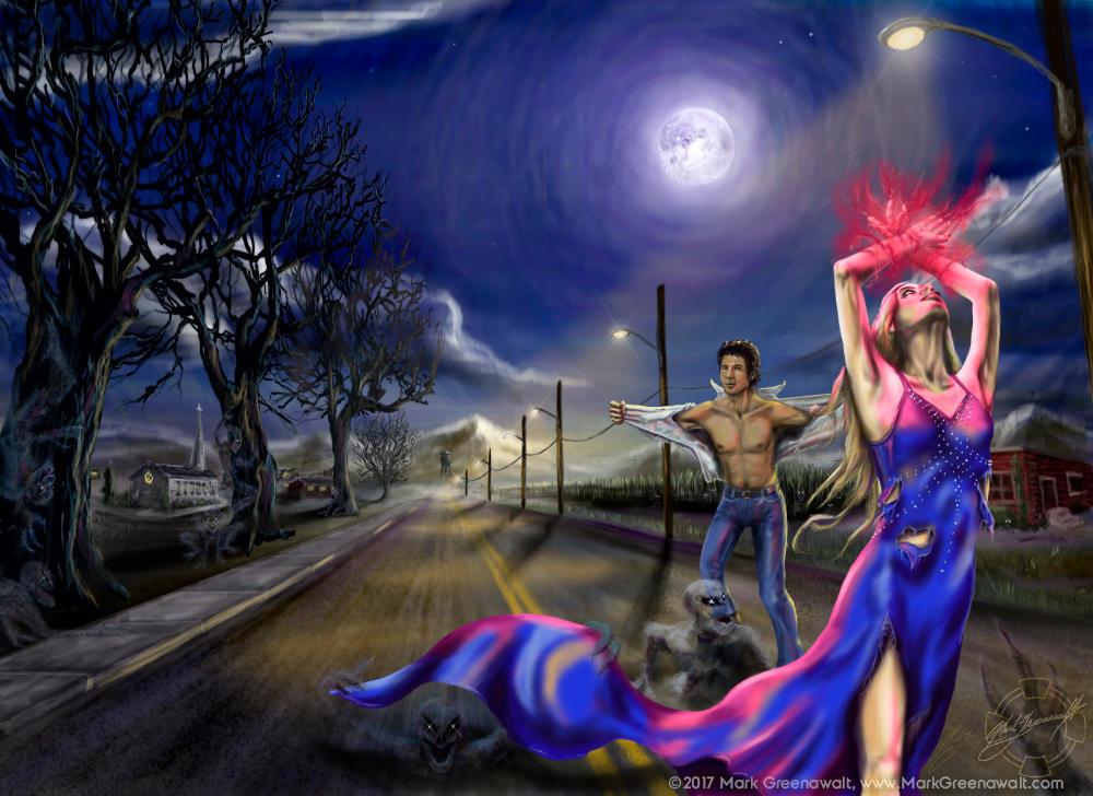 Moon Shadows by futureclassx