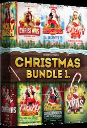 Christmas Flyer Bundle Vol.1 by majkolthemez