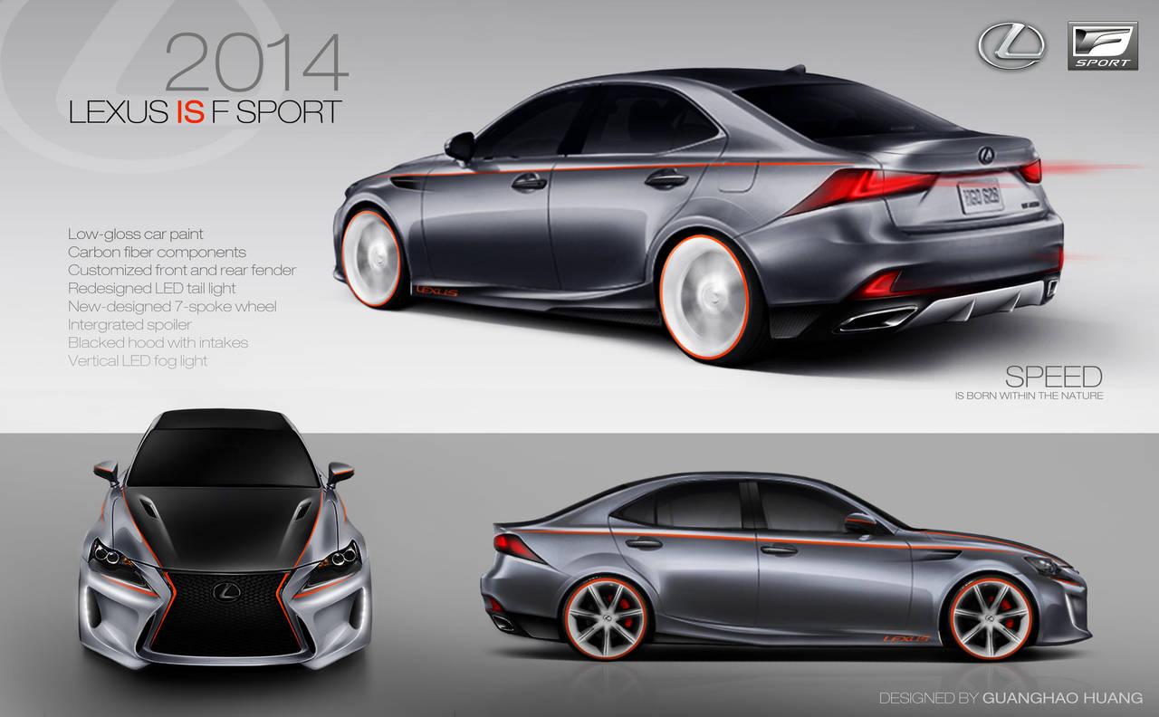 2014 Lexus IS F Sport Concept Design by hgh0518