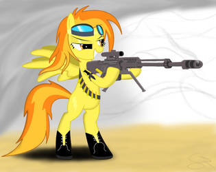 Sharpshooter Spitfire by Spitshy