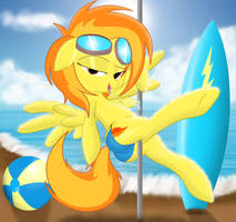 Spitfire..... Pole dancing! by Spitshy