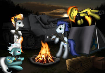 Camping out by Spitshy