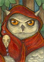 Wise Old Owl by WhimsicalMoon