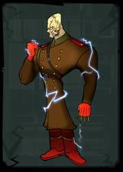 MGS3 colonel Volgin by Emanhattan
