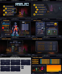 RELIC User Interface concepts by Emanhattan