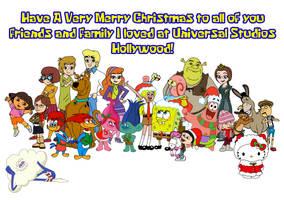 Sabrina GirlPants and USH friends for Christmas by Magic-Kristina-KW