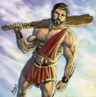 Hercules Hero by RubusTheBarbarian