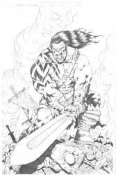 Skaar, Son of Hulk by RubusTheBarbarian