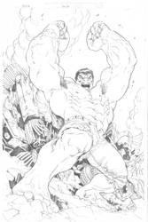 Hulk by RubusTheBarbarian