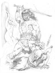 Conan - Barbarian Fury by RubusTheBarbarian
