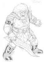 MOTU - Grizzlor by RubusTheBarbarian