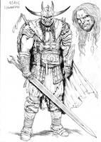 Osric Flannagan level 14 by RubusTheBarbarian