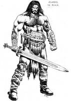 Agnarr the Black by RubusTheBarbarian