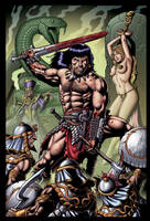 Savage Sword of Conan by RubusTheBarbarian