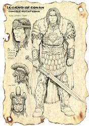 Legend of Conan Concept Art by RubusTheBarbarian