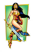 Ame Comi Wonder Woman 2014 by RubusTheBarbarian