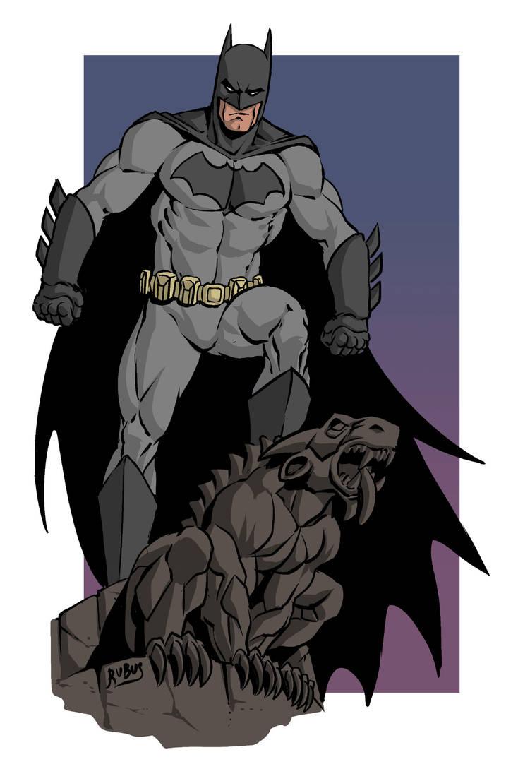 Batman by RubusTheBarbarian