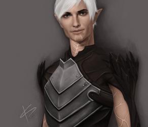 Fenris /Dragon Age II by Acrisa