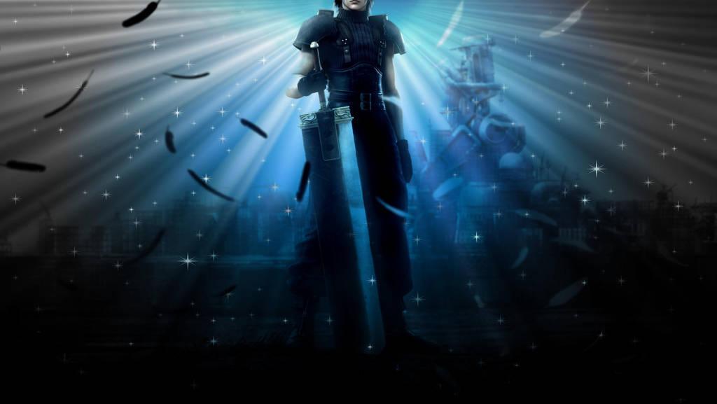Final Fantasy 7 Crisis Core Wallpaper Edit By Liz Farron On Deviantart