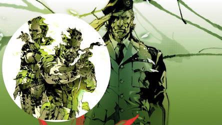 Metal Gear Solid 3 Wallpaper by Liz-Farron