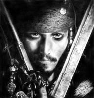 CapN Jack Sparrow by AmyClark