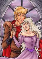 Last Unicorn: Amalthea and Lir by AmyClark