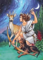 Artemis by AmyClark