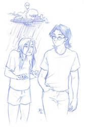 Fanart100 - SiP Rain by AmyClark