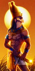 Horus by LarsRune