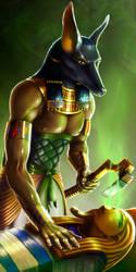 Anubis by LarsRune