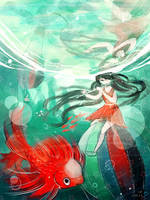 oc: submerged by califlair