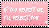 .::{F2U} Respect - Stamp::. by SmolSkittyAngel
