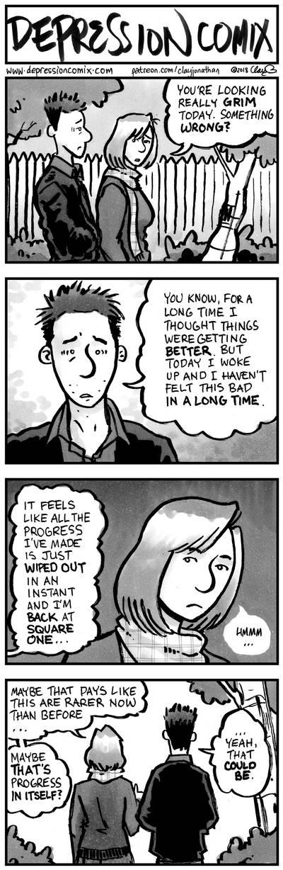 depression comix #414 by depressioncomix