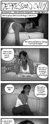 depression comix #415 [tw: suicidal ideation] by depressioncomix