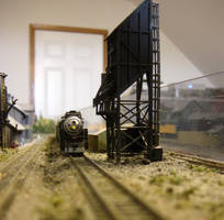 4438 at the Old Coaling Tower by ShayNo7