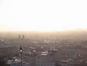 Le soleil se leve sur Paris by KaziModart