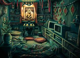 Messy Room 3 : Budhism by anakingusan