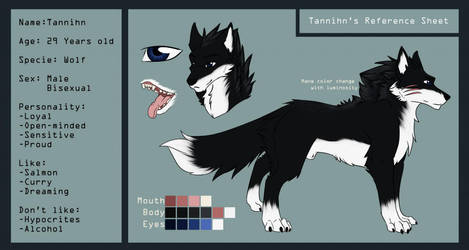 [Commission] Tannihn- Ref'Sheet by Zata-S