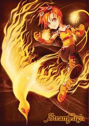 fire girl by AgataKa19