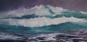 The Morning Swell by RFord-Art