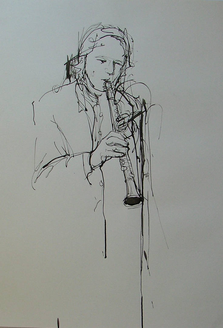 Clarinet by RFord-Art