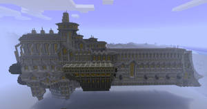 Minecraft spaceship, 40K by VV01