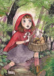 Red Ridding Hood by Leharc--BlueHeart