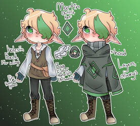 Main outfit revamp by The-Caster-Of-Spells